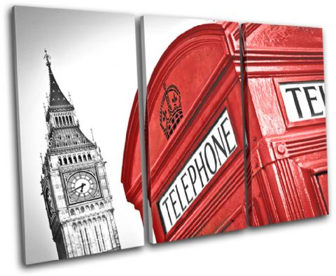 London Telephone Box Landmarks - 13-1267(00B)-TR32-LO